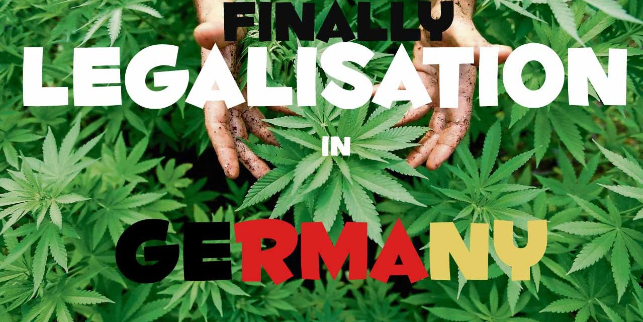 Finally:Petition by the german government for the legalisation of Weed