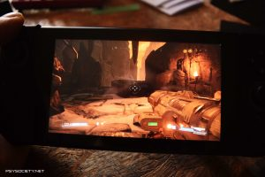 Doom Switch Review First person shooter panic button