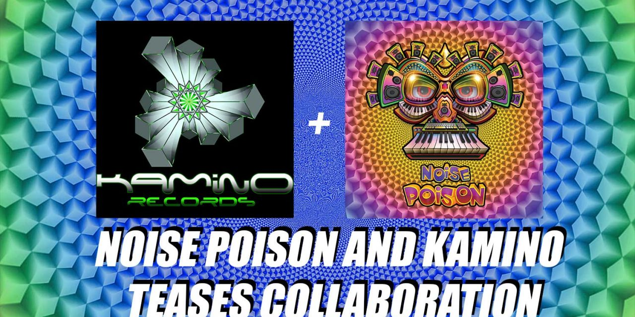 NOISE POISON RECORDS and KAMINO records teasing collaboration